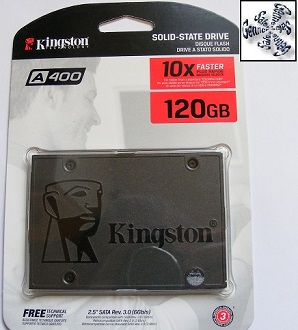 Market Drayton Laptop Kingston Solid State Drive Installation