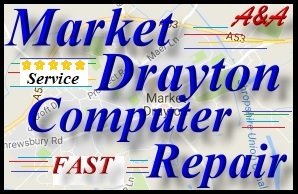 A&A Market Drayton Computer Repair, Laptop Repairs - PC Repairs, Laptop Power Socket Repair