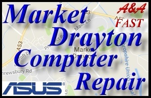 Asus Bridgnorth Fast Laptop Repair- Asus Market Drayton PC Repair