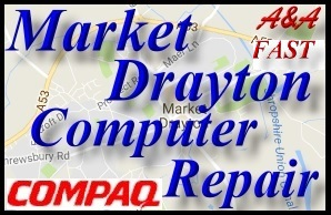 Compaq Market Drayton Laptop Repair - Compaq Bridgnorth PC Repair