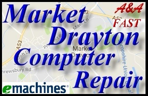 eMachines Market Drayton Laptop Repair eMachines Bridgnorth PC Repair