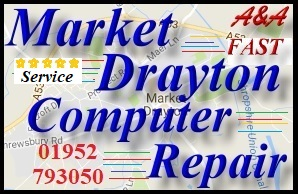 Market Drayton Computer Update failure fix