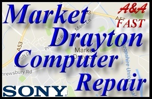 Sony Market Drayton Laptop Repair - Sony Market Drayton PC Repair