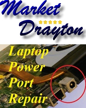 Market Drayton Laptop Power Charger Port Repair