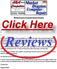 Market Drayton Computer Repair Reviews