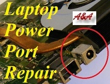 Market Drayton laptop power socket repair and MD Upgrade